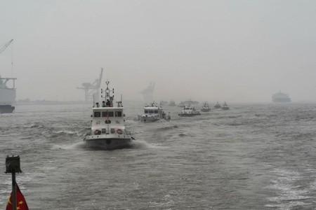 农业和农村事务部和公安部组织了第一轮长江流域高风险水域非法捕捞同步检查和执法行动