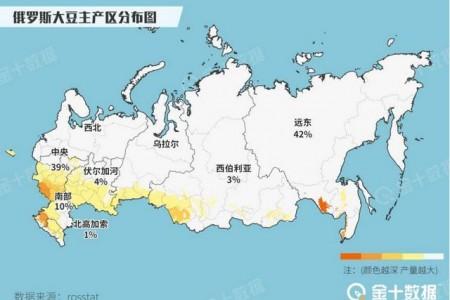 中国已经3周没有进口美国豆了!俄罗斯媒体:中国四省透露对俄罗斯大豆感兴趣!