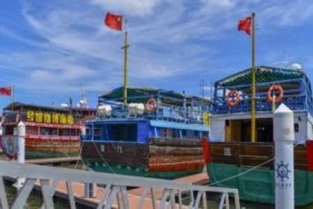 海南在休闲渔业试点项目中推进休闲渔船的系统管理